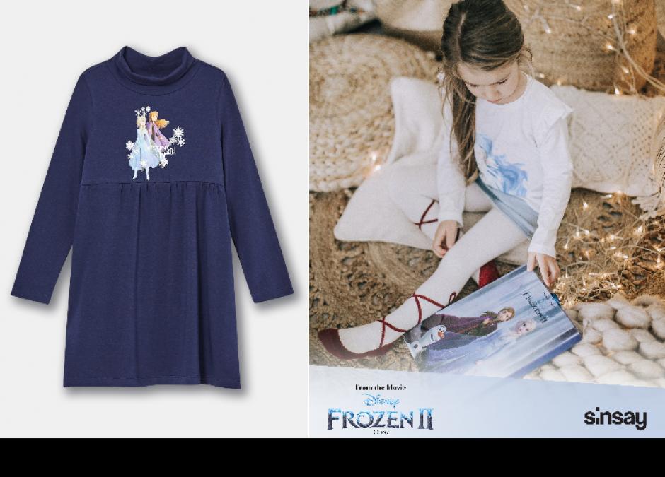 kolekcja Frozen w Sinsay