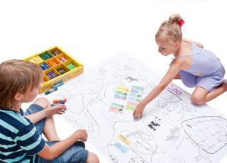 kolorowanka, zabawa dla dzieci, rysowanie