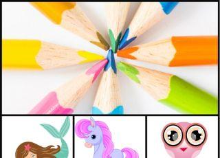 Kolorowanki dla dziewczynek - gotowe do druku!