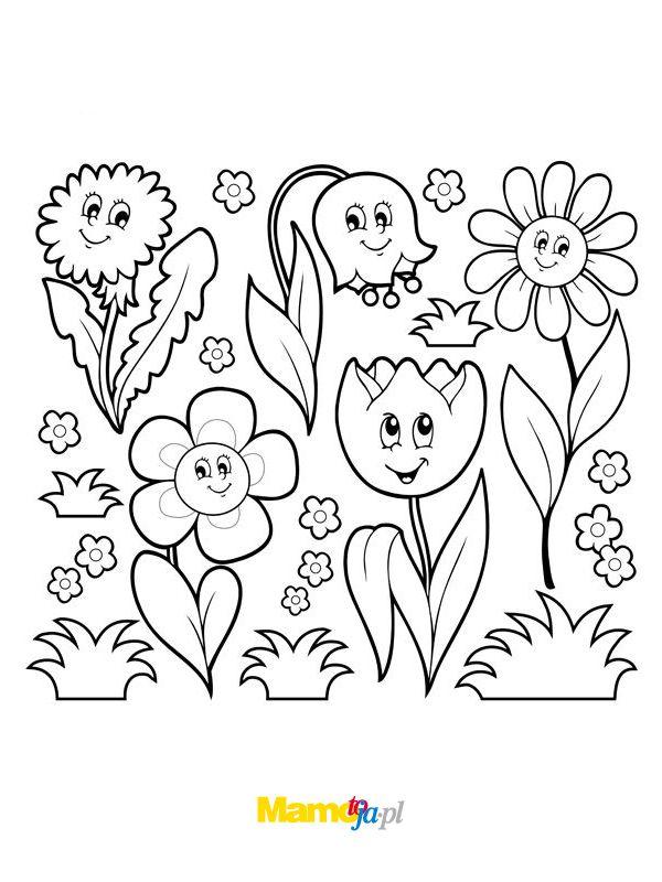 Wiosna Kolorowanki Do Druku Strona 8 Mamotoja Pl