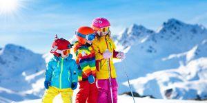 Kombinezon narciarski dla dziecka