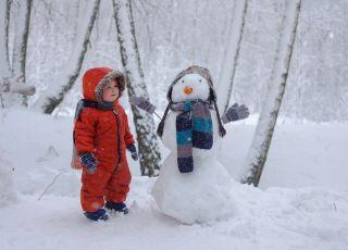 kombinezon zimowy narciarski dla dzieci