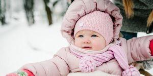 Kombinezony niemowlęce na zimę
