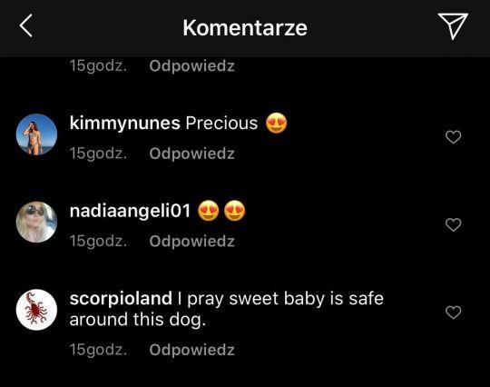 Komentujący pod zdjęciem Joanny Krupy/instagram.com/joannakrupa