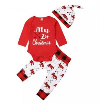 świąteczny komplet dla niemowlaka