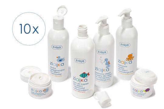 e6db0f0515 ... sprzęt lub kosmetyk są twoim ulubionym produktem w Waszej wyprawce  noworodka i wygraj 1 z 10 zestawów pielęgnacyjnych Ziajka!