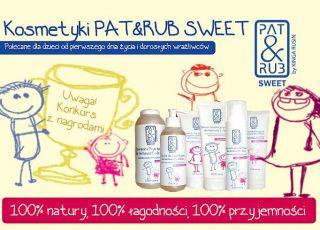 konkurs Pat&Rub, kosmetyki dla dzieci, kosmetyki dla niemowląt, kosmetyki Pat&Rub