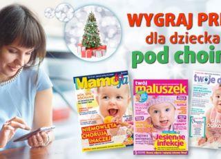konkurs świąteczny, prezenty dla dziecka