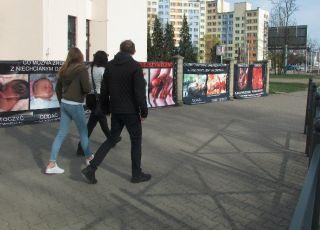 Kontrowersyjna wystawa antyaborcyjna we Wrocławiu