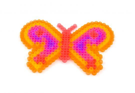 wzór motyl z koralików do prasowania