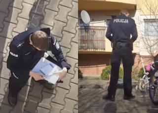 kornawirus i zakaz wychodzenia z domów: policja karze ojca 3 dzieci