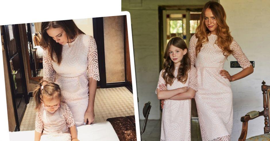 fb1e9e5121 Takie same sukienki dla mamusi i córeczki - te są przepiękne ...