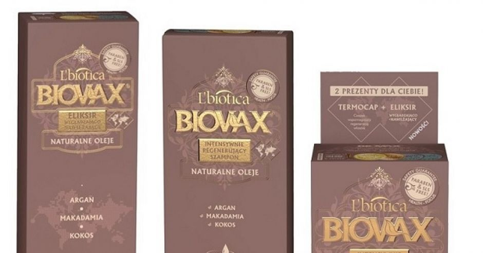 Kosmetyki Biovax L'biotica - seria Aragan Makademia Kokos