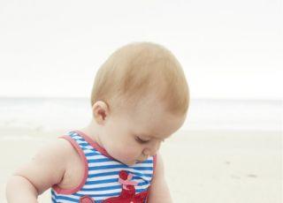 kostiumy kąpielowe Mothercare, kostiumy kąpielowe dla dzieci, lato 2014
