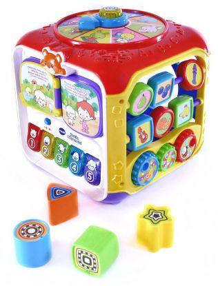 10 interaktywnych zabawek dla niemowlaka. Wspomagają rozwój