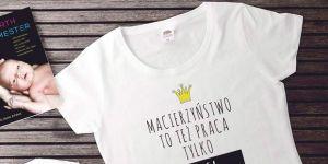 koszulka i body – prezent dla mamy