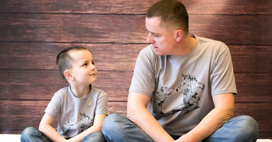 koszulki dla taty i dziecka