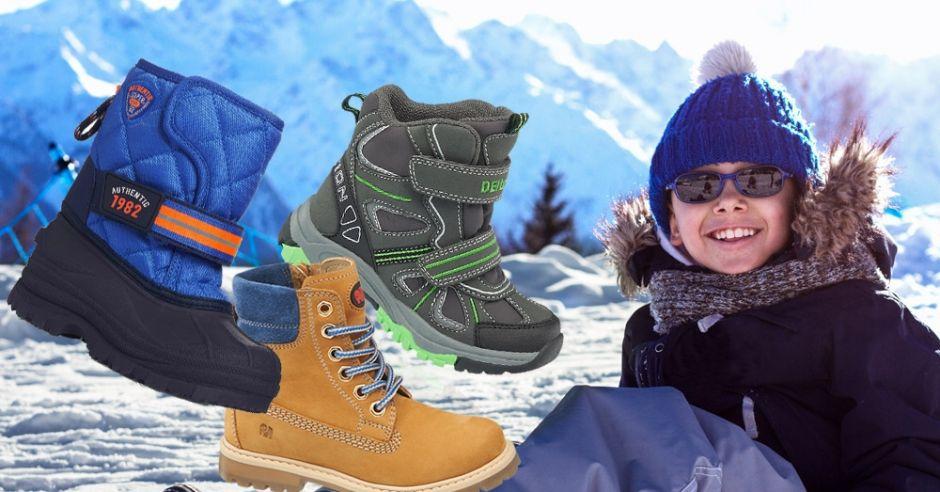 kozaki, buty zimowe, buty zimowe dla chłopca