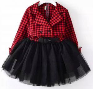 Sukienka świąteczna tiulowa dla dziewczynki