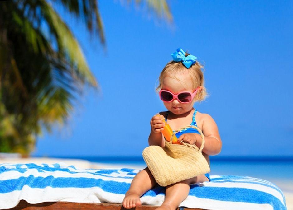 Krem z filtrem UV dla niemowląt i starszych dzieci