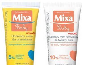 Kremy dla dzieci marki Mixa