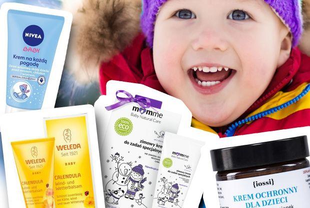 kremy na zimę dla dzieci najlepsze