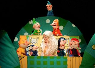 królewna śnieżka, teatr