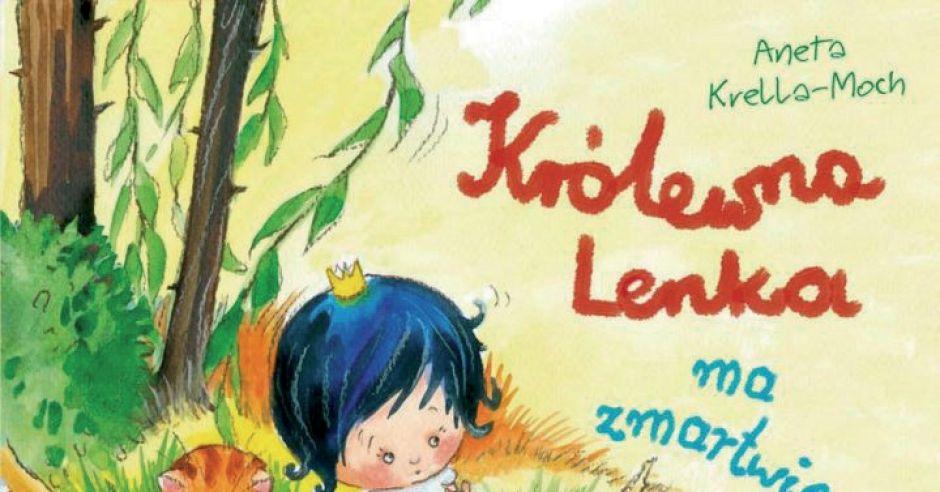 Królewna Lenka ma zmartwienie, książki dla dzieci, bajki dla dzieci, recenzje książek dla dzieci