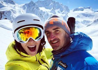 Krupińska na nartach