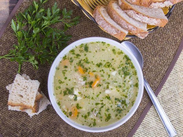 Krupnik - przepis na zupę dla karmiącej mamy