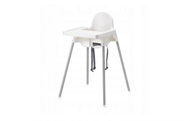 Krzesełko wysokie z tacką Antilop, IKEA