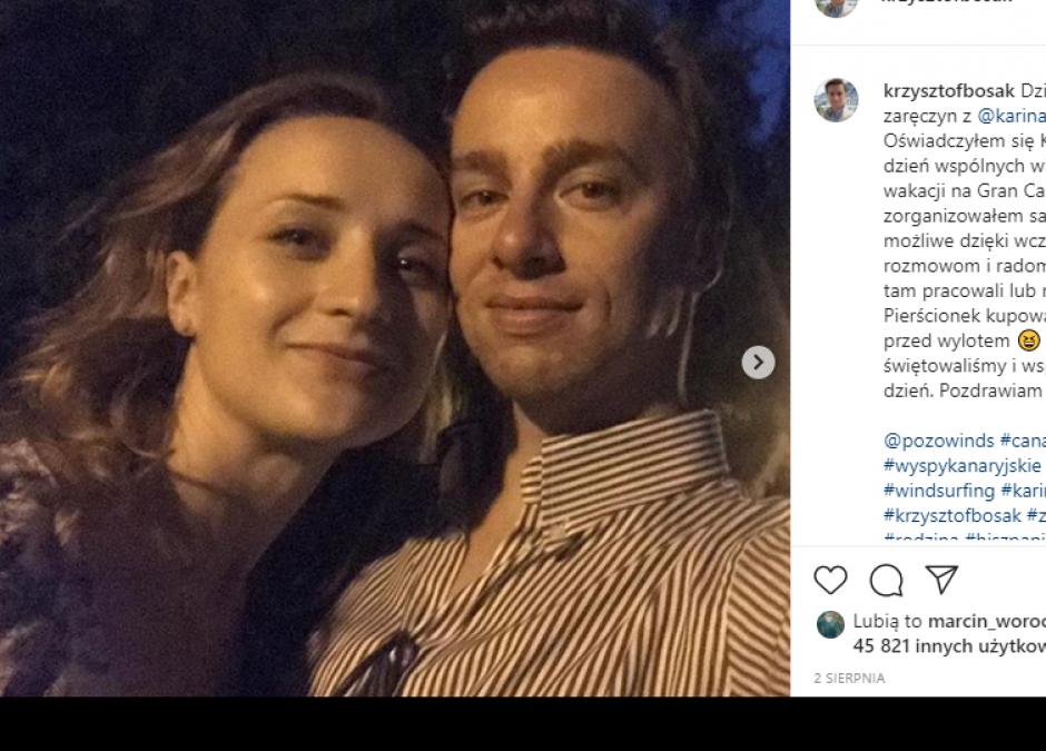 Krzysztof Bosak będzie ojcem