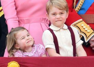 Książę George i księżniczka Charlotte w Polsce