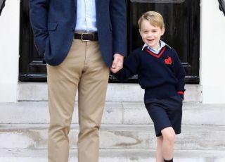 Książę George w szkole