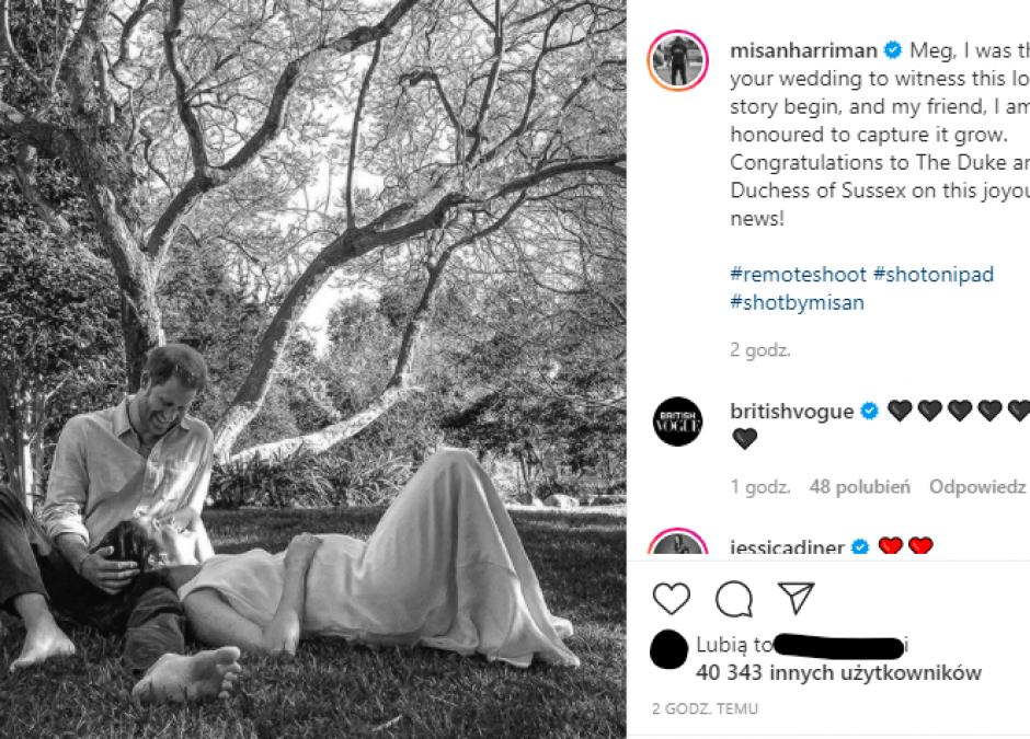 Książę Harry i Meghan Markle spodziewają się drugiego dziecka