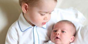 książęce rodzeństwo, Charlotte, George