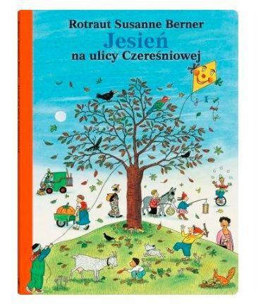 Książka dla 2-latka: Jesień na ulicy Czereśniowej