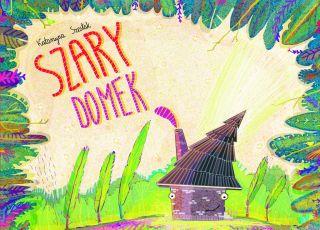 książka dla dzieci, szary domek, Biedronka