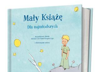Książka Mały Książę dla najmłodszych - okładka