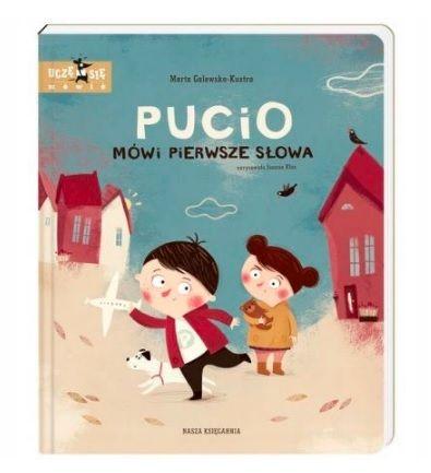 Książka dla 2-latka: Pucio mówi pierwsze słowa