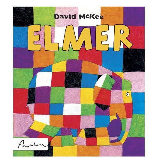 Książka dla 3-latka: Elmer