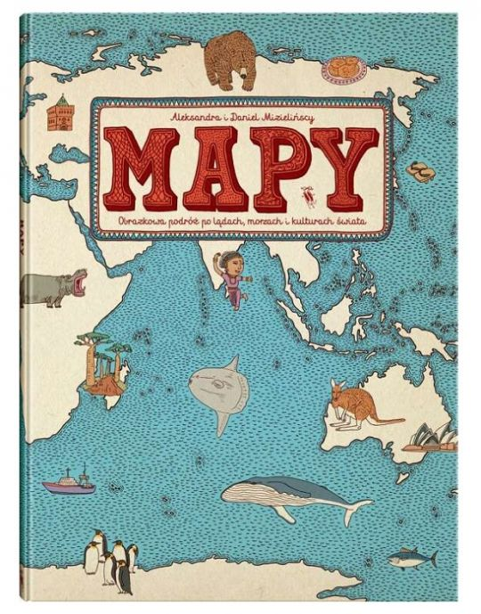 Książki dla 3-latka: Mapy