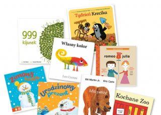 Książki to najlepsze prezenty - 9 propozycji dla maluchów