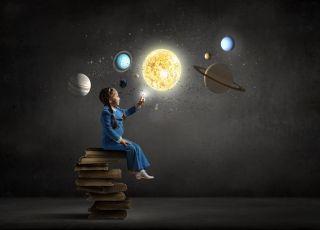 Książki dla dzieci o kosmosie