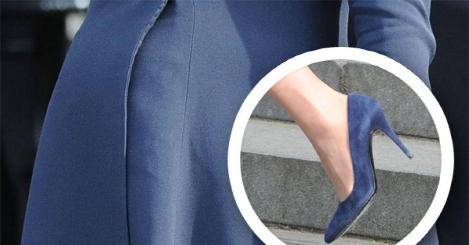 Księżna Kate tuż przed porodem