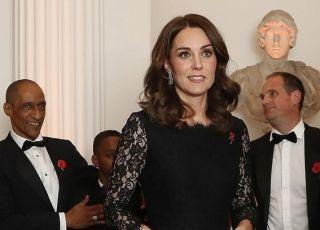 Księżna Kate w ciąży na gali charytatywnej