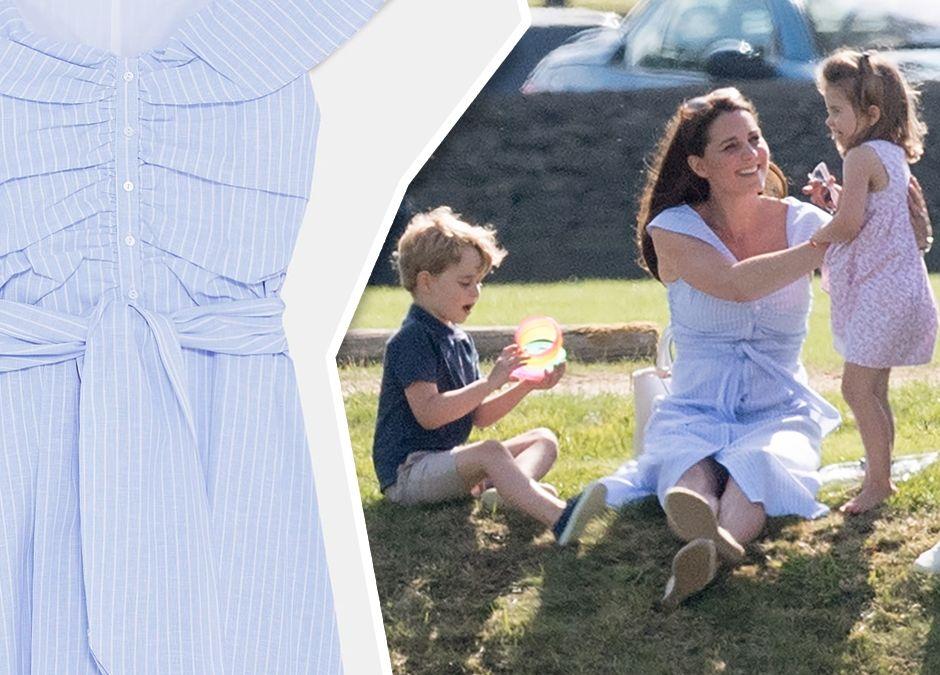księżna Kate w sukience z sieciówki - cena