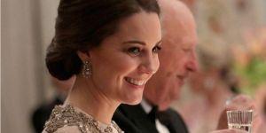 Księżna Kate w sukni wieczorowej McQueen HIT suknia ślubna i na wesele