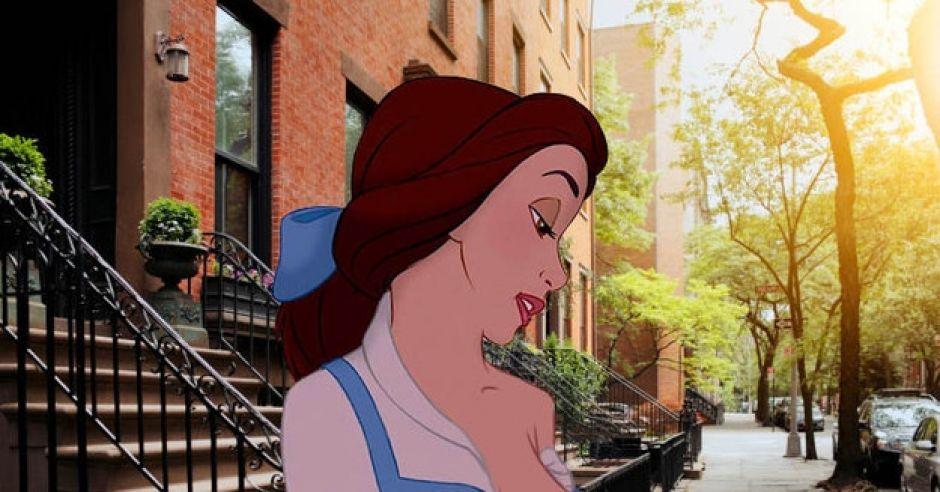 Księżniczki Disneya karmią piersią w miejscach publicznych