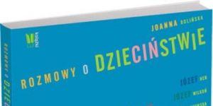 książka, okładka, rozmowy o dzieciństwie